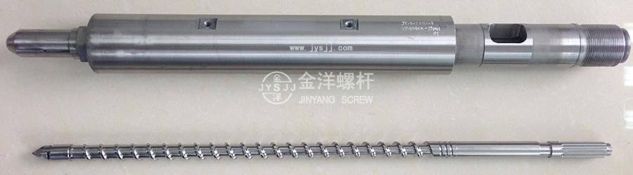 PC透明料专用螺杆料管组